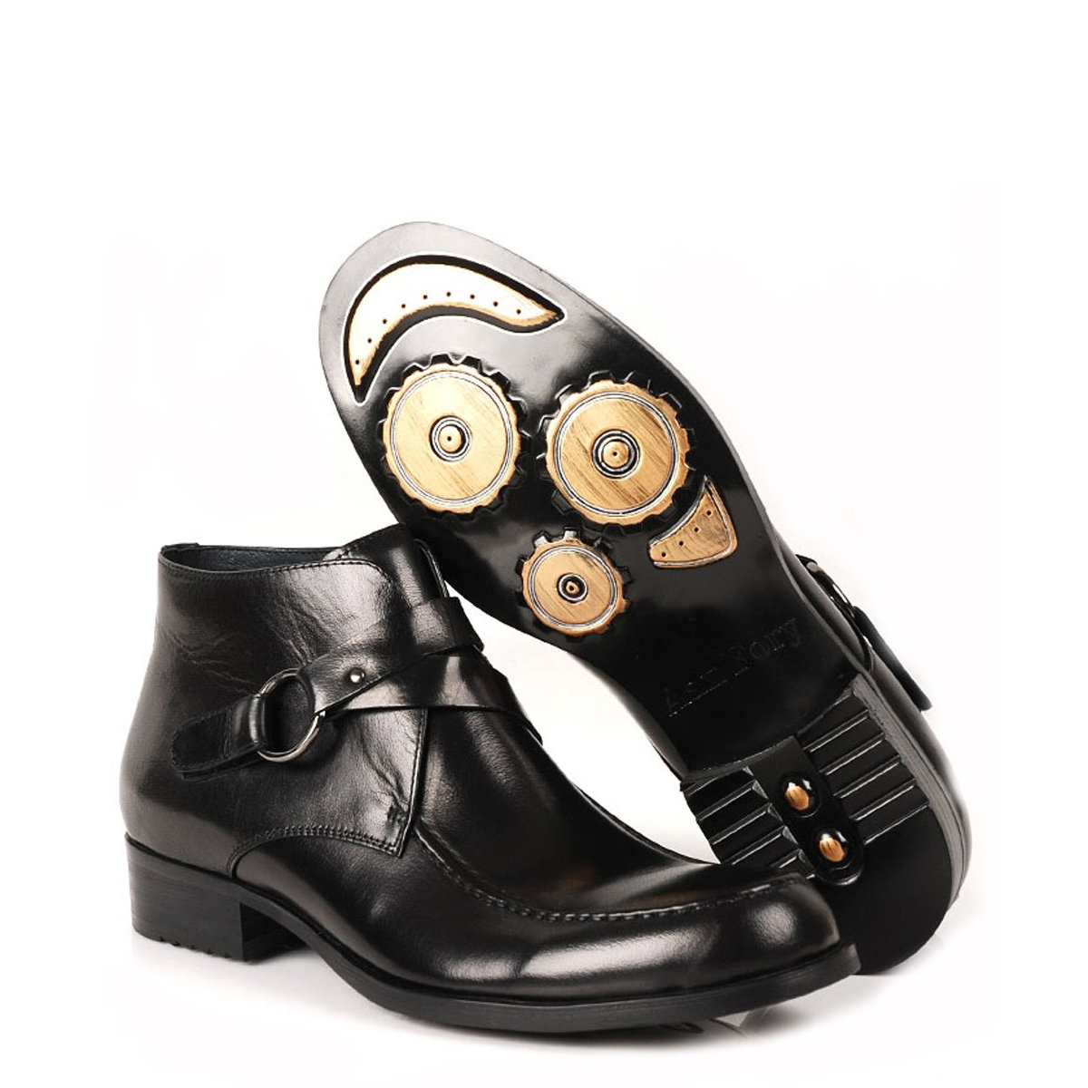 s two tone leather formal dress shoes oxford boots