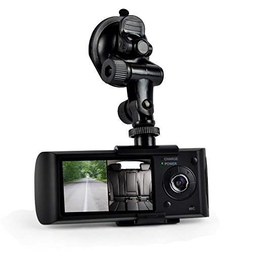 car recorder dvr front rear view dash camera video 2 7 inch monitor windshield mount full. Black Bedroom Furniture Sets. Home Design Ideas